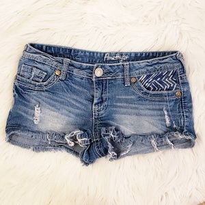 Distressed Summer Shorts, Juniors Size 7